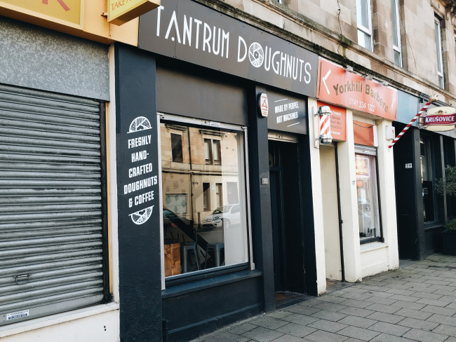 Tantrum Doughnuts Glasgow Review